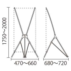 Xバナー QSB-1618(キューエスビー1618 W600)_D