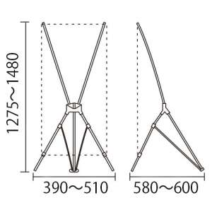 Xバナー QSB-1214(キューエスビー)_D