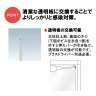 飛沫感染防止スタンド SGHシリーズ_B